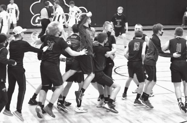 Gator Boys Basketball heads to Section Finals!