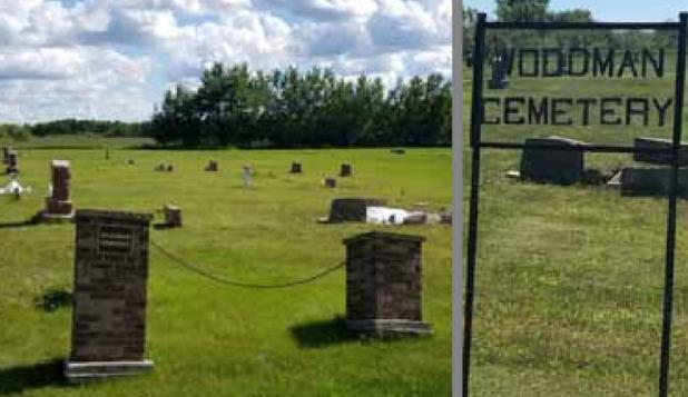 Historical Woodman Cemetery Gets a Facelift
