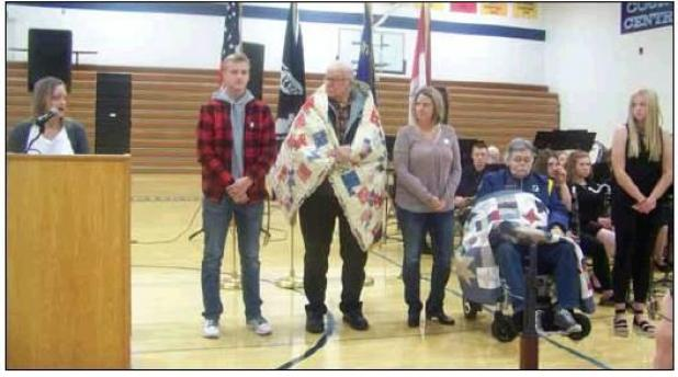 """Quilts Of Honor"""