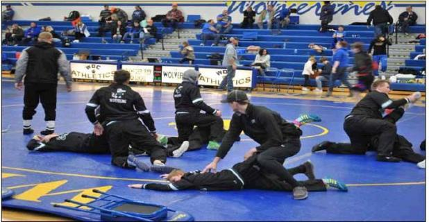 Gator Wrestlers Hit the Mat!