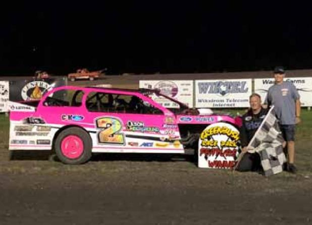 Four more first time winners at Greenbush Race Park