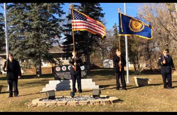 Badger Celebrates Veteran's Day